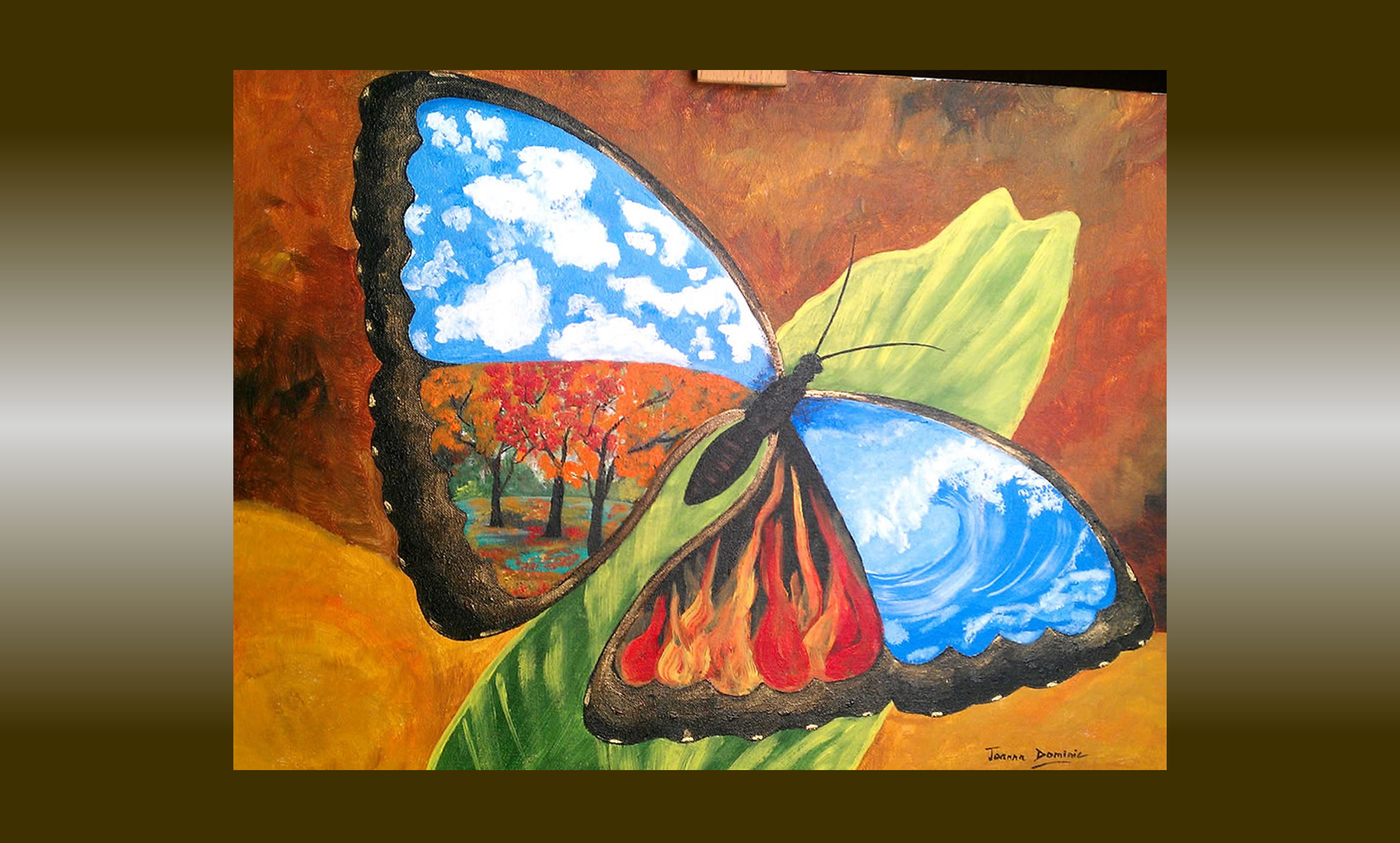 Art Elements Of Painting : Four elements life is beautiful